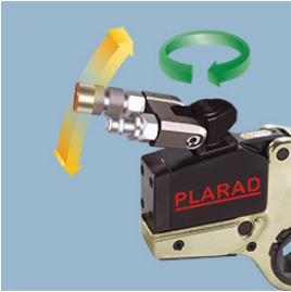 PLARAD Hydraulic Torque Wrench FSX rotate hose