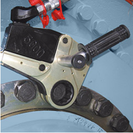 PLARAD Hydraulic Torque Wrench FSX adjustable handle